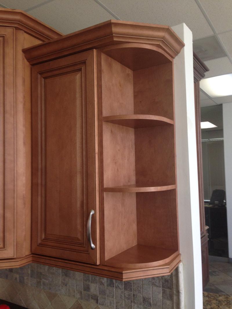 Wes1236 Wall End Shelf Cabinet
