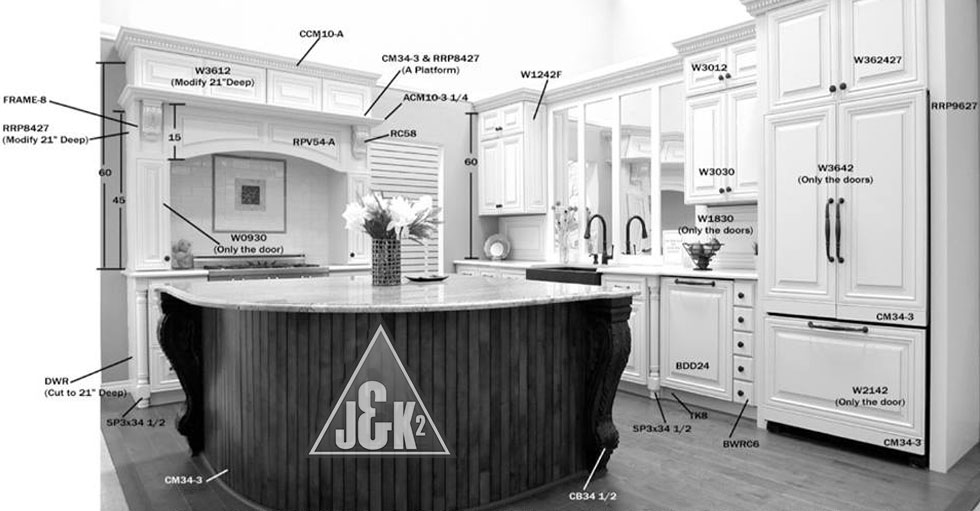 Kitchen Cabinets Layout kitchen cabinet design layout - tlc kitchen cabinets - 800-221-8099
