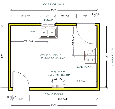 Kitchen Cabinet Design Layout - TLC KITCHEN CABINETS - 800-221-8099